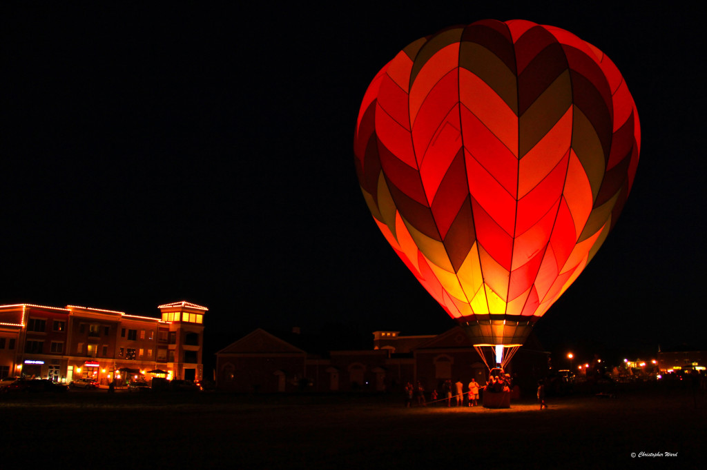 Join us Saturday night for a Synchronized Balloon Glowing Ceremony.